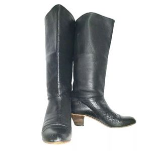 Papuchi By Spiegel Women's Leather Knee High Boots